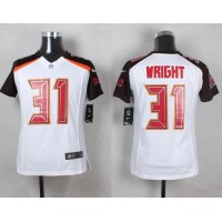 Nike Buccaneers #31 Major Wright White Youth Stitched NFL New Elite Jersey