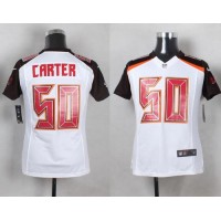Nike Buccaneers #50 Bruce Carter White Youth Stitched NFL New Elite Jersey