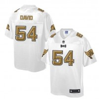 Nike Buccaneers #54 Lavonte David White Men's NFL Pro Line Fashion Game Jersey