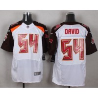 Nike Buccaneers #54 Lavonte David White Men's Stitched NFL New Elite Jersey
