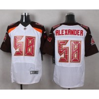 Nike Buccaneers #58 Kwon Alexander White Men's Stitched NFL New Elite Jersey