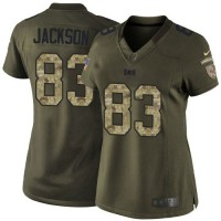 Nike Buccaneers #83 Vincent Jackson Green Women's Stitched NFL Limited Salute to Service Jersey