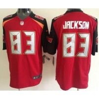 Nike Buccaneers #83 Vincent Jackson Red Team Color Men's Stitched NFL New Game Jersey