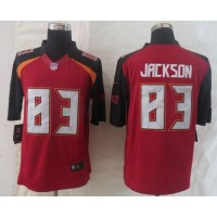 Nike Buccaneers #83 Vincent Jackson Red Team Color Men's Stitched NFL New Limited Jersey