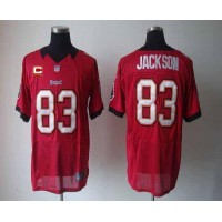 Nike Buccaneers #83 Vincent Jackson Red Team Color With C Patch Men's Stitched NFL Elite Jersey