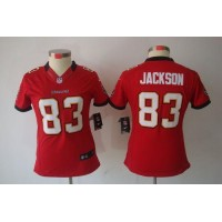Nike Buccaneers #83 Vincent Jackson Red Team Color Women's Stitched NFL Limited Jersey