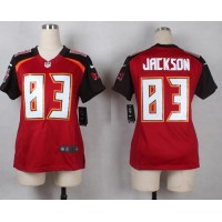 Nike Buccaneers #83 Vincent Jackson Red Team Color Women's Stitched NFL New Elite Jersey