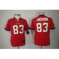 Nike Buccaneers #83 Vincent Jackson Red Team Color Youth Stitched NFL Limited Jersey