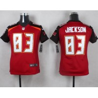 Nike Buccaneers #83 Vincent Jackson Red Team Color Youth Stitched NFL New Elite Jersey