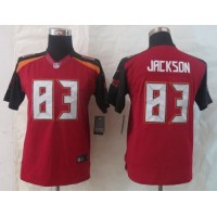 Nike Buccaneers #83 Vincent Jackson Red Team Color Youth Stitched NFL New Limited Jersey