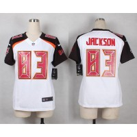 Nike Buccaneers #83 Vincent Jackson White Women's Stitched NFL New Elite Jersey