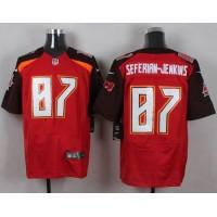 Nike Buccaneers #87 Austin Seferian-Jenkins Red Team Color Men's Stitched NFL New Elite Jersey