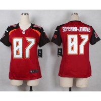 Nike Buccaneers #87 Austin Seferian-Jenkins Red Team Color Women's Stitched NFL New Elite Jersey