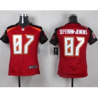 Nike Buccaneers #87 Austin Seferian-Jenkins Red Team Color Youth Stitched NFL New Elite Jersey