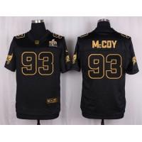 Nike Buccaneers #93 Gerald McCoy Black Men's Stitched NFL Elite Pro Line Gold Collection Jersey