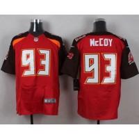Nike Buccaneers #93 Gerald McCoy Red Team Color Men's Stitched NFL New Elite Jersey