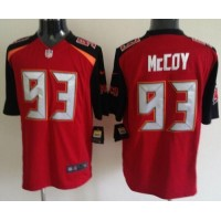 Nike Buccaneers #93 Gerald McCoy Red Team Color Men's Stitched NFL New Game Jersey