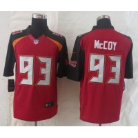 Nike Buccaneers #93 Gerald McCoy Red Team Color Men's Stitched NFL New Limited Jersey