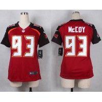 Nike Buccaneers #93 Gerald McCoy Red Team Color Women's Stitched NFL New Elite Jersey