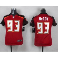 Nike Buccaneers #93 Gerald McCoy Red Team Color Youth Stitched NFL New Elite Jersey