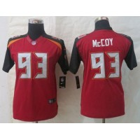Nike Buccaneers #93 Gerald McCoy Red Team Color Youth Stitched NFL New Limited Jersey