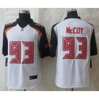 Nike Buccaneers #93 Gerald McCoy White Men's Stitched NFL New Limited Jersey