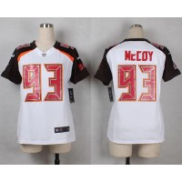 Nike Buccaneers #93 Gerald McCoy White Women's Stitched NFL New Elite Jersey