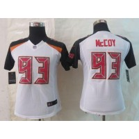 Nike Buccaneers #93 Gerald McCoy White Women's Stitched NFL New Limited Jersey