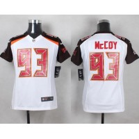 Nike Buccaneers #93 Gerald McCoy White Youth Stitched NFL New Elite Jersey