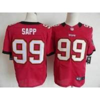 Nike Buccaneers #99 Warren Sapp Red Team Color Men's Stitched NFL Elite Jersey