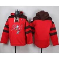 Nike Buccaneers Blank Red Player Pullover NFL Hoodie