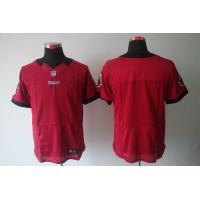Nike Buccaneers Blank Red Team Color Men's Stitched NFL Elite Jersey