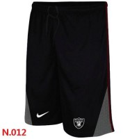 Nike NFL Oakland Raiders Classic Shorts Black