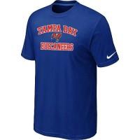 Nike NFL Tampa Bay Buccaneers Heart & Soul NFL T-Shirt Blue