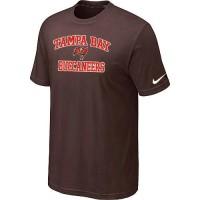 Nike NFL Tampa Bay Buccaneers Heart & Soul NFL T-Shirt Brown