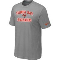 Nike NFL Tampa Bay Buccaneers Heart & Soul NFL T-Shirt Light Grey