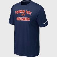 Nike NFL Tampa Bay Buccaneers Heart & Soul NFL T-Shirt Midnight Blue