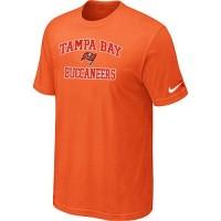 Nike NFL Tampa Bay Buccaneers Heart & Soul NFL T-Shirt Orange