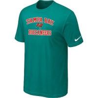 Nike NFL Tampa Bay Buccaneers Heart & Soul NFL T-Shirt Teal Green