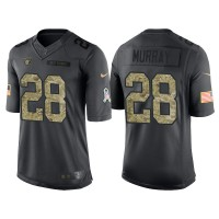 Nike Oakland Raiders #28 Latavius Murray Men's Stitched Anthracite NFL Salute to Service Limited Jerseys
