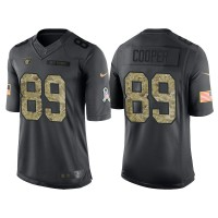 Nike Oakland Raiders #89 Amari Cooper Men's Stitched Anthracite NFL Salute to Service Limited Jerseys
