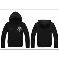 Nike Oakland Raiders Authentic Logo Hoodie Black