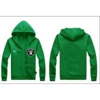 Nike Oakland Raiders Authentic Logo Hoodie Green
