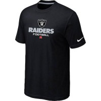 Nike Oakland Raiders Big & Tall Critical Victory NFL T-Shirt Black