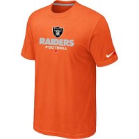 Nike Oakland Raiders Big & Tall Critical Victory NFL T-Shirt Orange