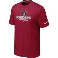 Nike Oakland Raiders Big & Tall Critical Victory NFL T-Shirt Red