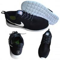 Nike Oakland Raiders London Olympics Black Shoes