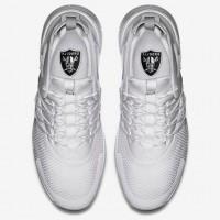 Nike Oakland Raiders London Olympics White Shoes