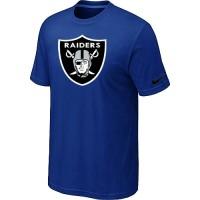 Nike Oakland Raiders Sideline Legend Authentic Logo Dri-FIT NFL T-Shirt Blue