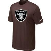 Nike Oakland Raiders Sideline Legend Authentic Logo Dri-FIT NFL T-Shirt Brown